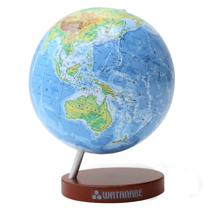 シティーズ15 地勢卓上地球儀WFG : 球 直径 : すべての講義